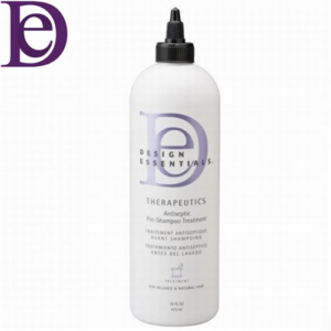 Anti-septic pre shampoo treatment for skin and scalp